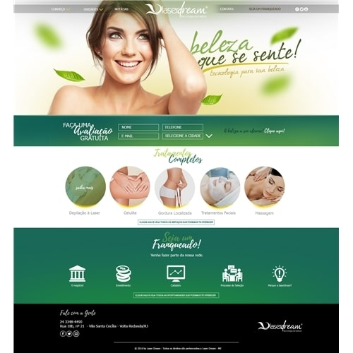 Layout site -