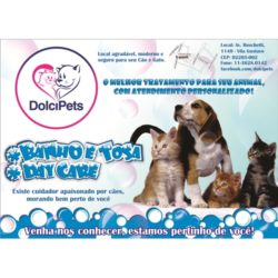 panfleto pet shop